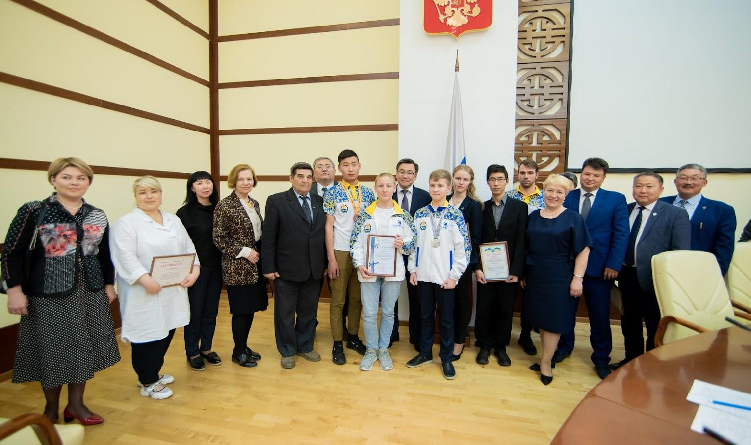 В Бурятии чествовали победителей чемпионата «Молодые профессионалы» (WorldSkills Russia)