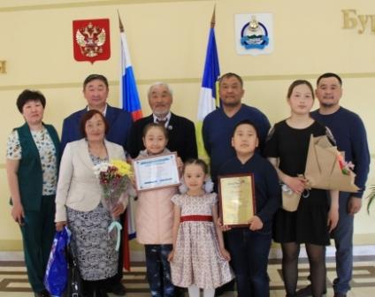 Семья из Бурятии победила во всероссийском конкурсе «Семья года»