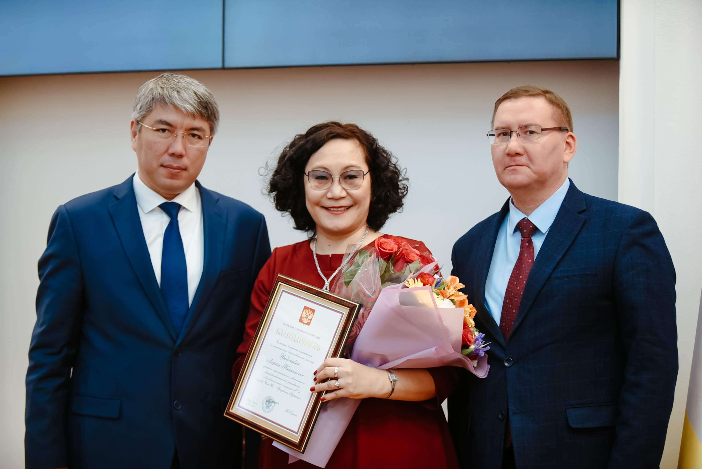 Учитель лингвистической гимназии №3 награждена Почетной грамотой Президента РФ