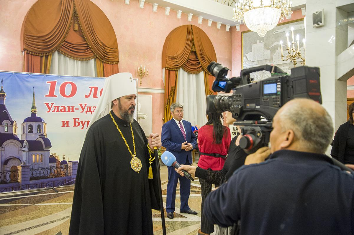 Митрополит Савватий обратился к жителям Бурятии