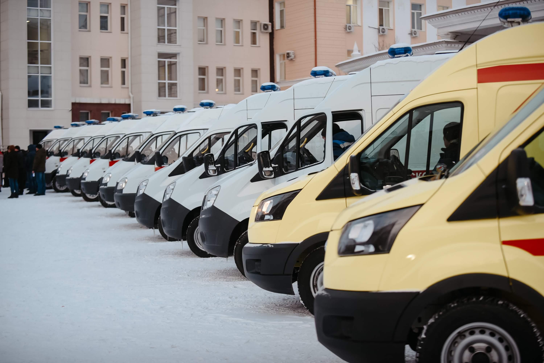 Службы скорой медицинской помощи Бурятии получили 16 автомобилей