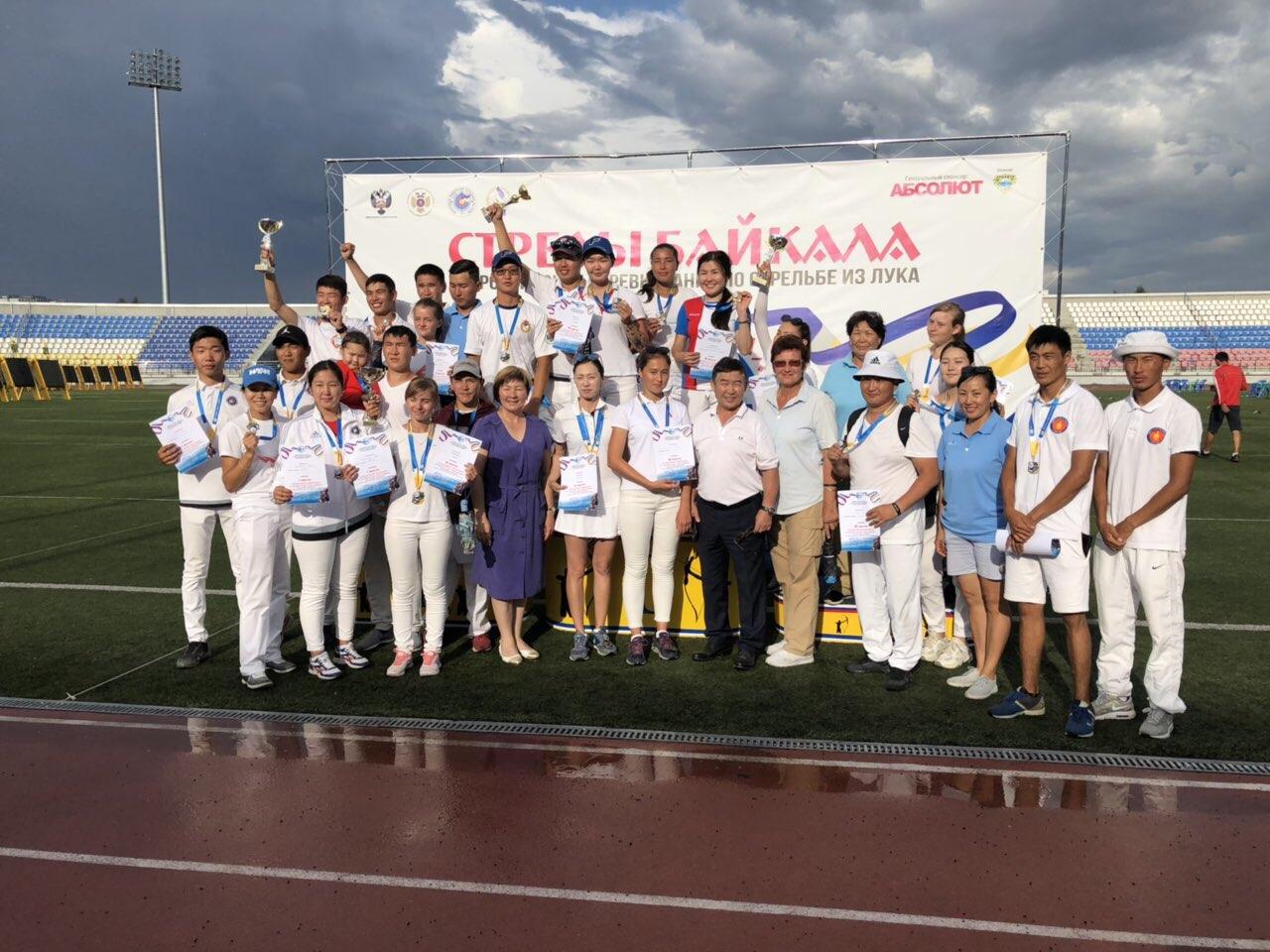 Бурятские лучники завоевали 19 медалей всероссийского турнира «Стрелы Байкала»