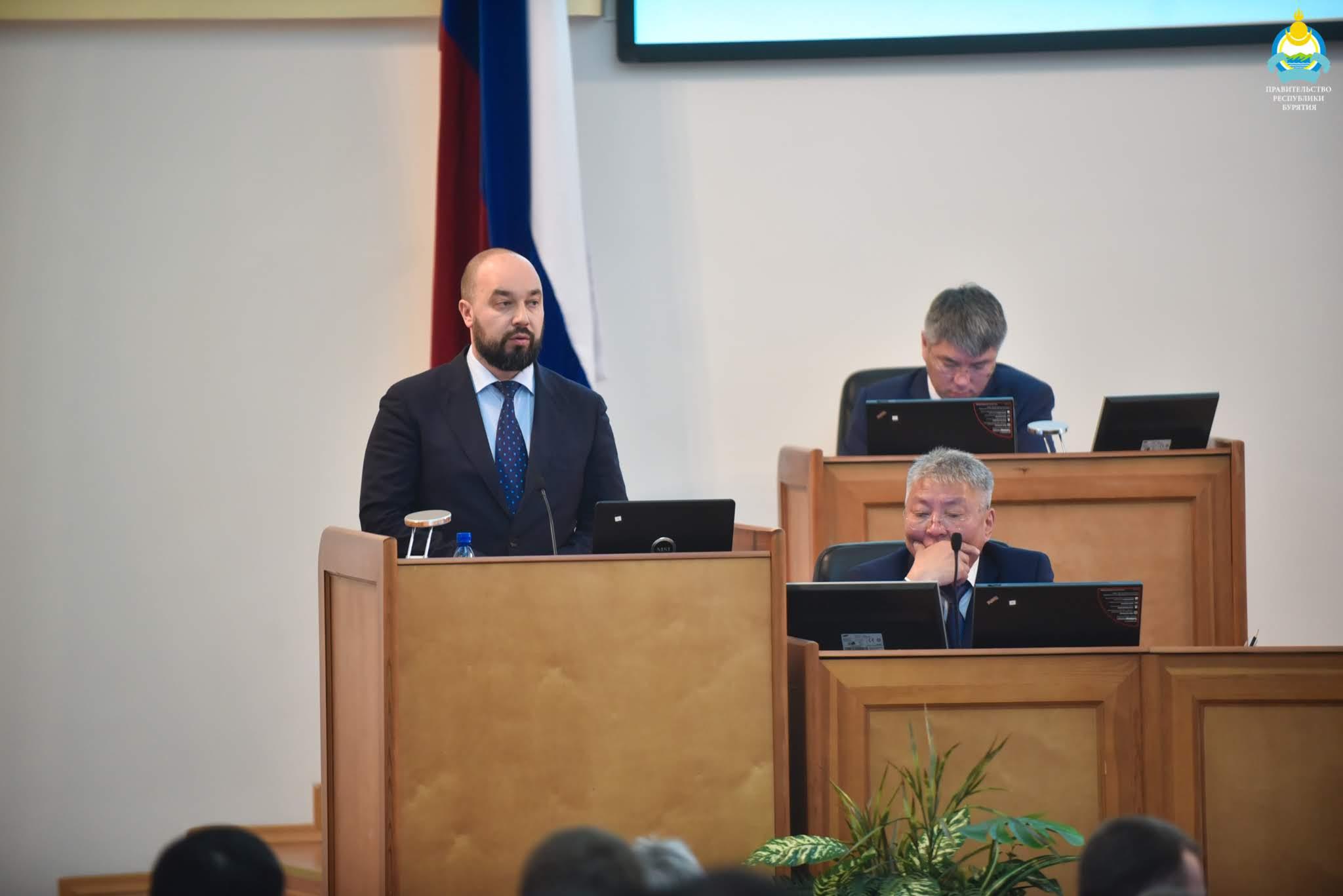 Алексей Мишенин согласован Народным Хуралом Бурятии на должность зампреда Правительства РБ по экономическому развитию