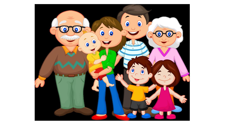 Картинки семья с ребенком и детский сад